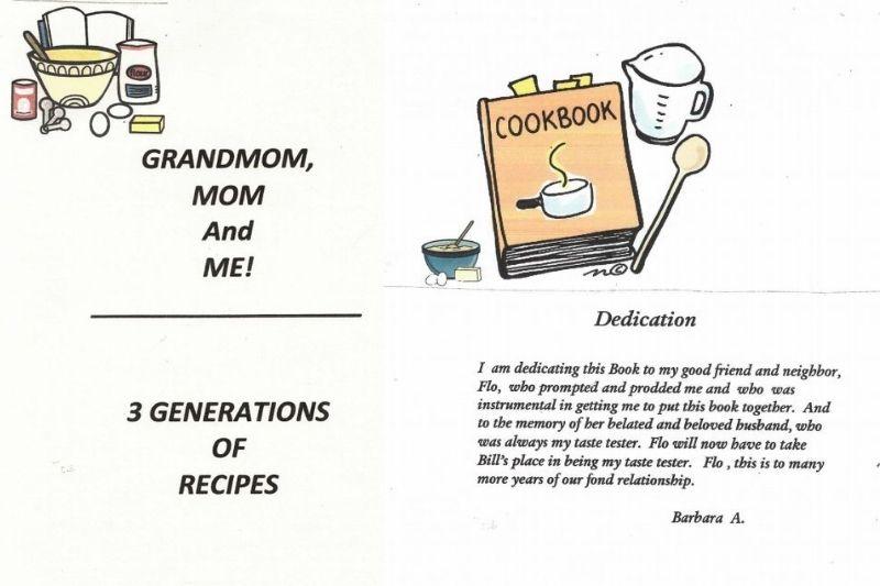 barbara's cookbook