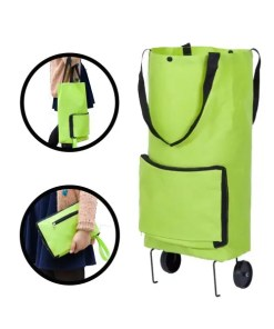 Portable Shopping Trolley Bag with Wheels Examples