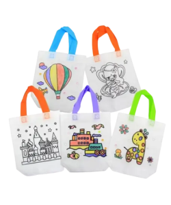 Kid's DIY Coloring Bags - 10 Pcs Set - Cover