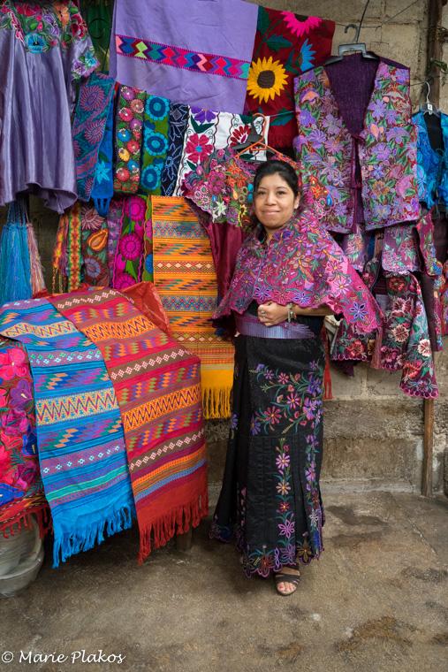 Josefina's daughter - an expert machine embroider