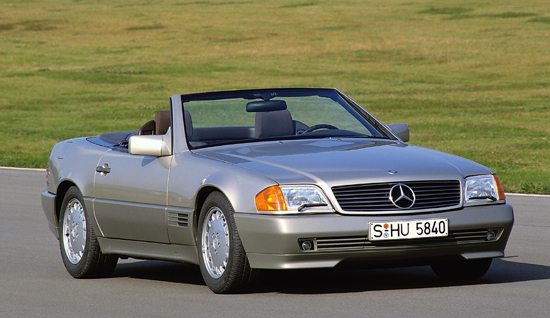 Mercedes Benz 1990 Roadster 500sl