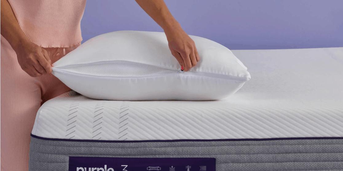 purple plush pillow review unique