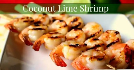 Gluten-Free Coconut Lime Shrimp