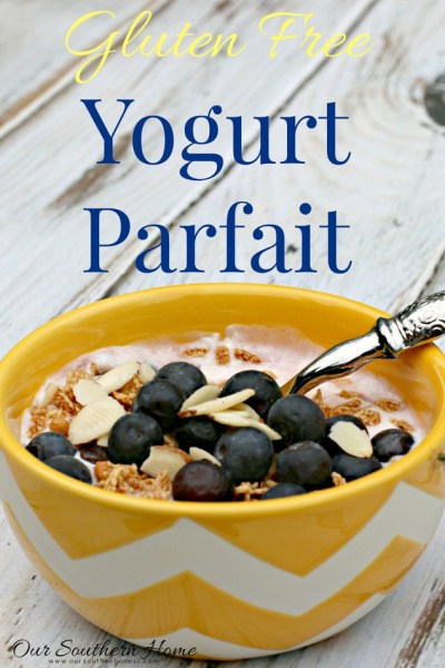 Gluten Free Yogurt Parfait with Liberte yogurt at Publix via Our Southern Home #ad #YogurtPerfection