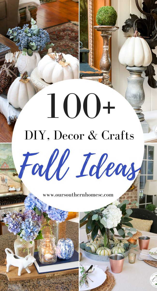 pin graphic with fall ideas