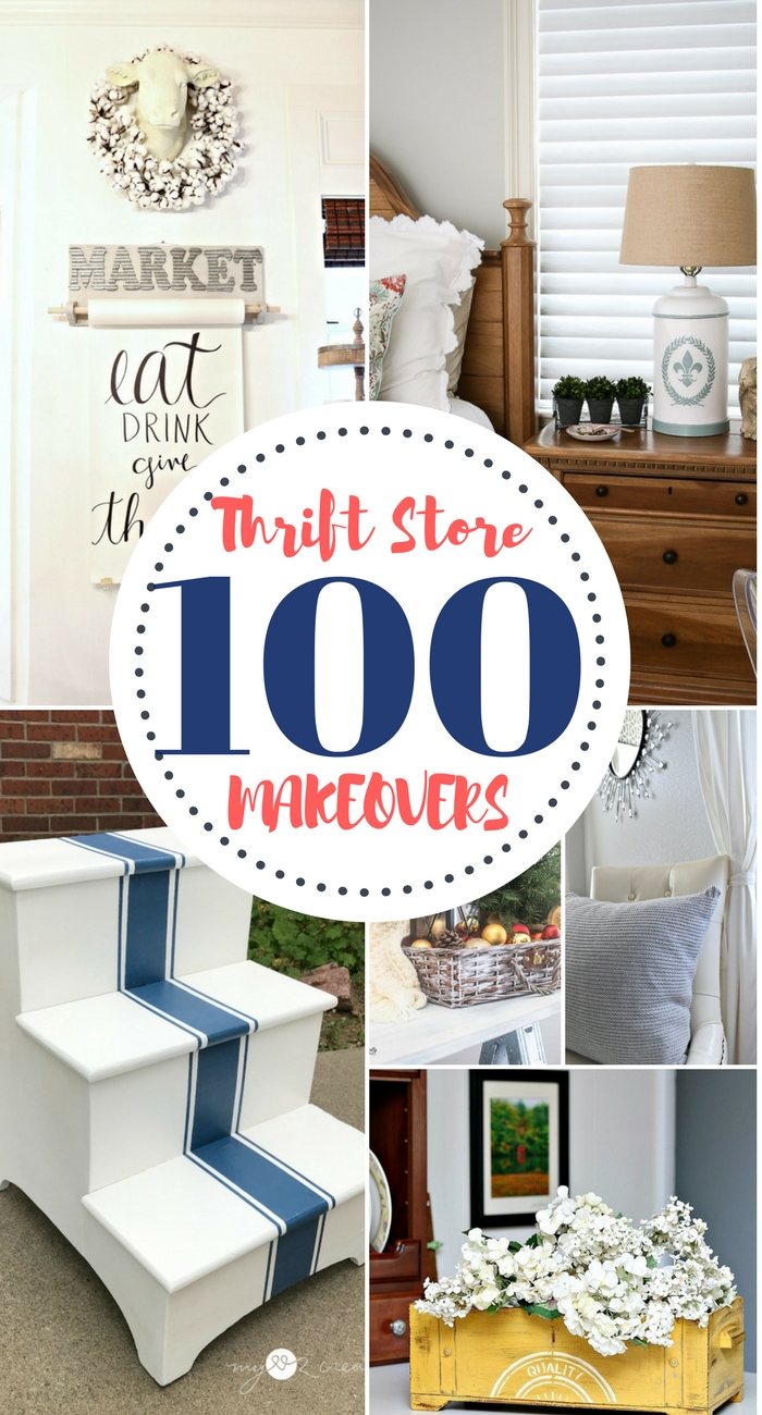100 DIY Thrift Store Makeovers Our Southern Home