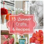 15 Summer crafts and recipes from Inspiration Monday link party