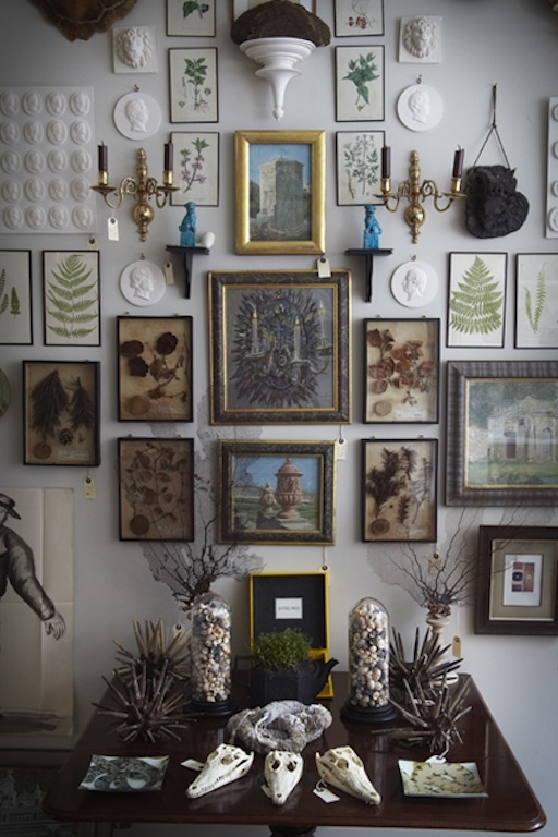 Everything about this is beautiful: Dishfunctional Designs, Create An Eclectic Gallery Wall!