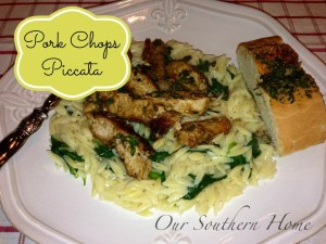 Pork Chops Piccata