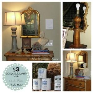 $3 Goodwill Lamp {ASCP Tutorial}