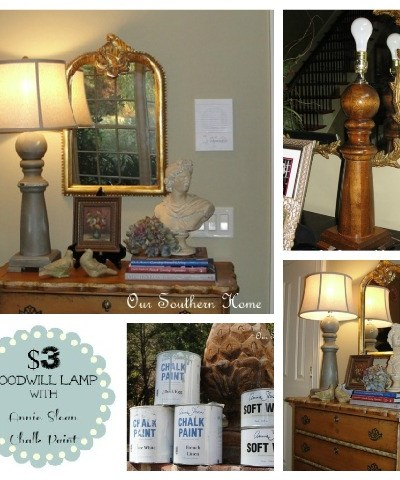 $3 Goodwill Lamp {ASCP Tutorial}