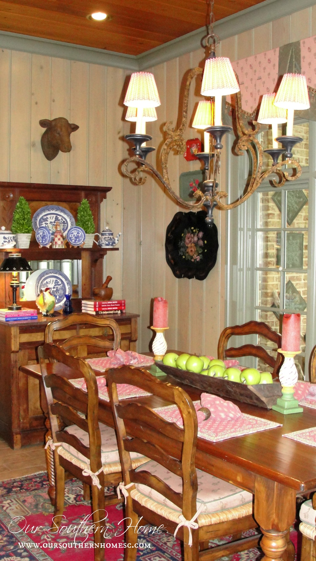 French Country Kitchen Rugs French Country Kitchen Tour Our Southern Home