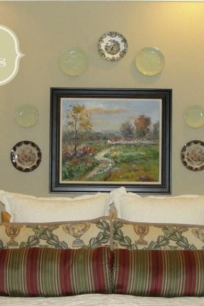 hanging-plates-as-wall-art