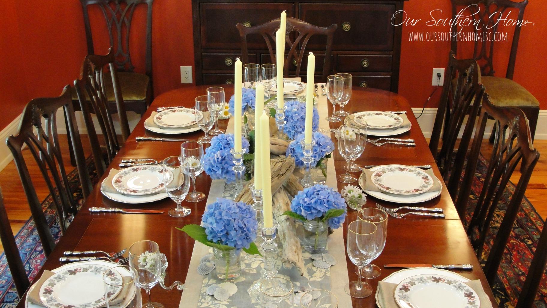 summer dining room