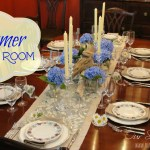 summer dining room