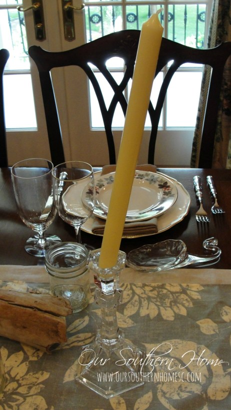 wobbly candlestick quick fix