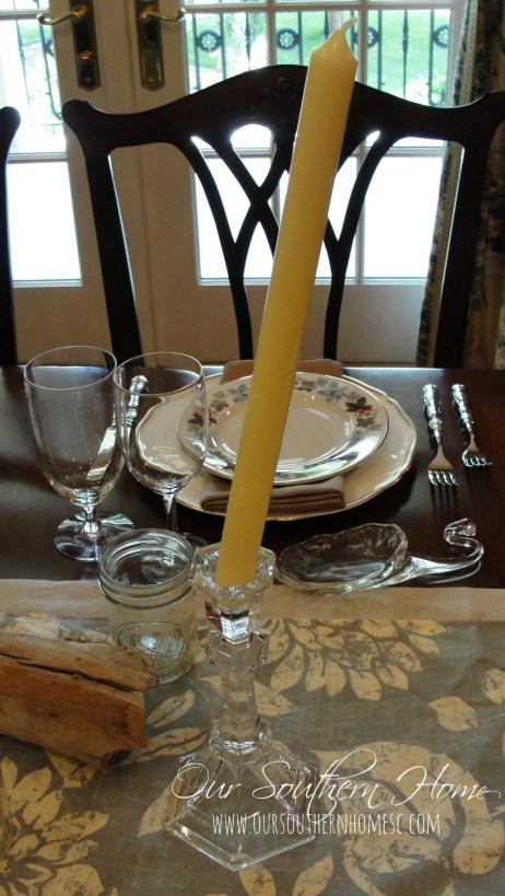 wobbly candlestick quick fix