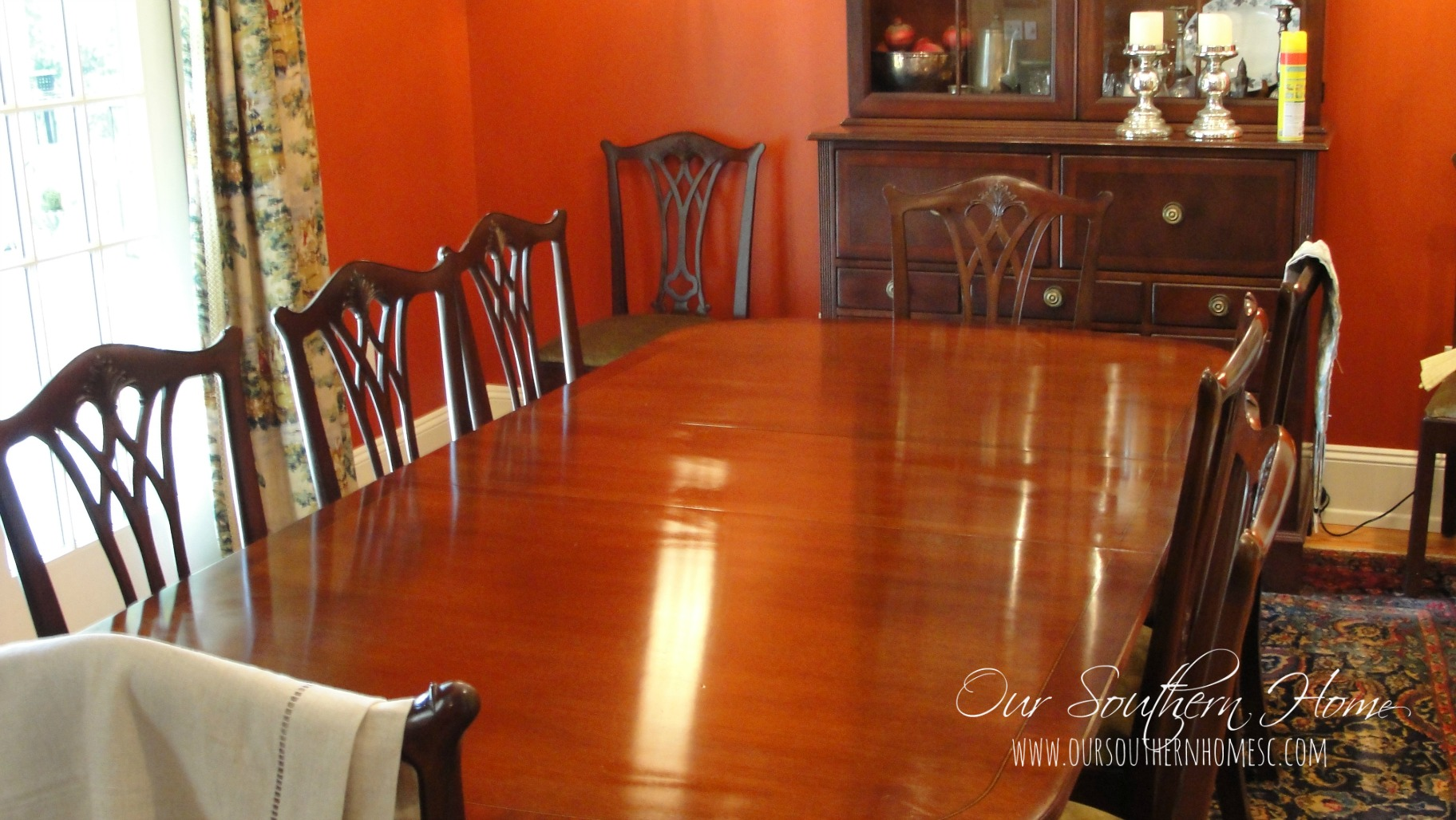 summer dining table