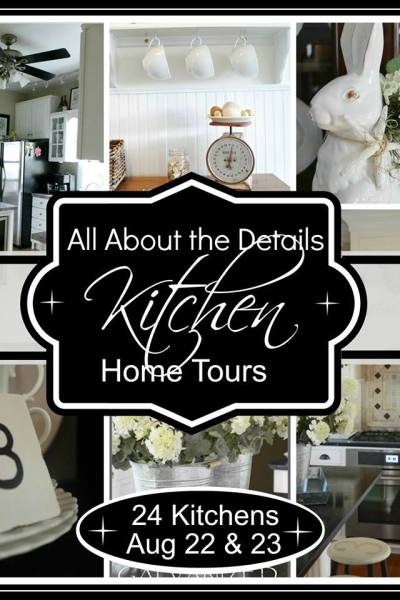 Kitchen Tours {It's All About the Details}