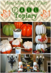 ASCP Pumpkin Topiary Tutorial
