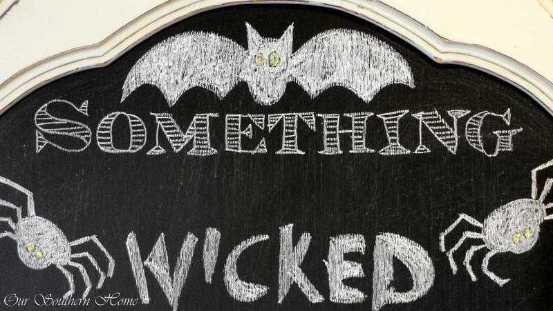 Halloween-chalk-art