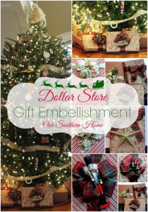 Dollar Store Gift Wrap Ideas