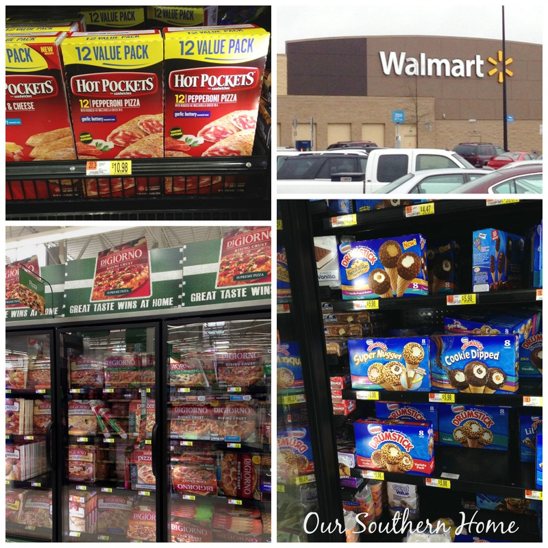 Nestle and Walmart for a football party from Our Southern Home #shop