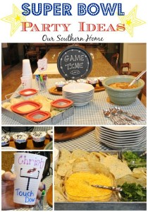 Super Bowl Party with Rubbermaid and Sharpie