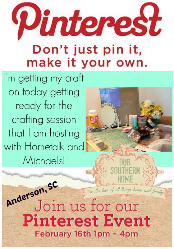 Pinterest Party with Our Southern Home