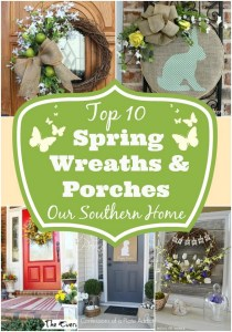 Top Spring Wreaths and Porches