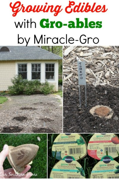 Gro-ables by Miracle-Gro via Our Southern Home