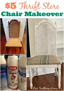 $5 Thrift Store Chair Makeover