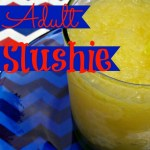 Adult slushie recipe for a summer crowd from Our Southern Home #cocktail #alcoholicslushie #adultslushie