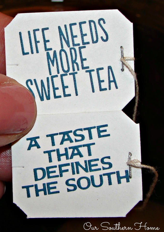 Sweet tea in the south by Our Southern Home for #SouthernBreezeSweetTea #AD