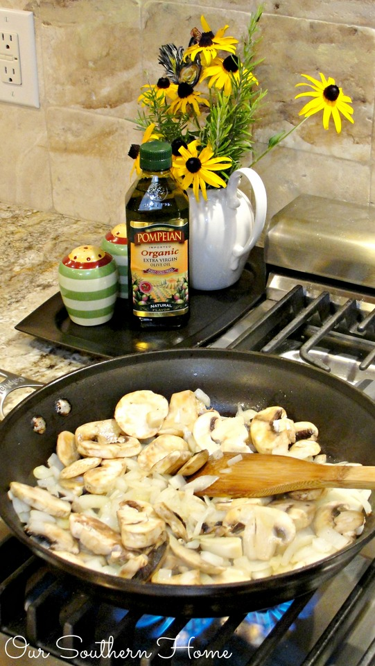 August is National Olive Oil Month! Join me as I talk about ways to substitute butter with olive oil via Our Southern Home