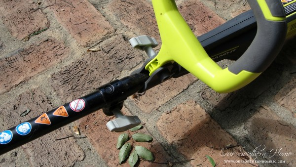 Ryobi 40V Lithium-Ion String Trimmer review via Our Southern Home