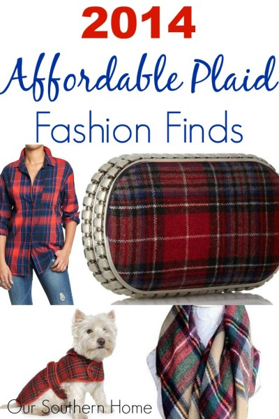 Affordable Plaid Fashion Finds