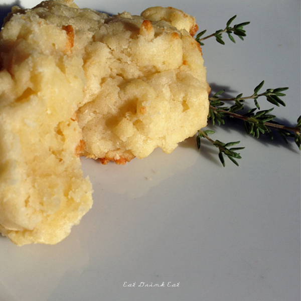 parmesan and garlic scone recipe