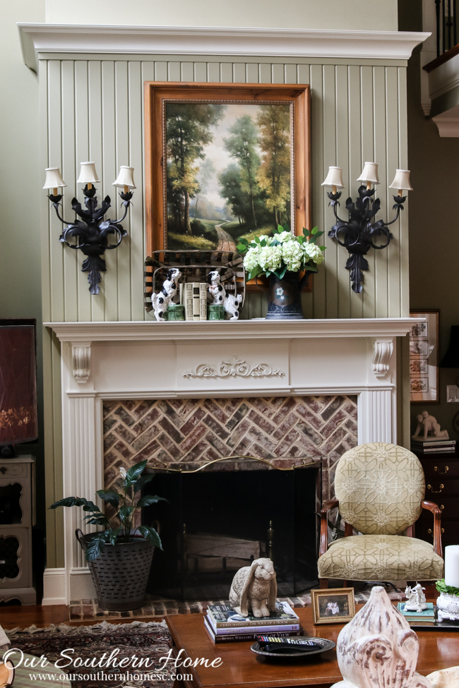 2016 Spring Family Room tour by Our Southern Home