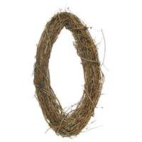 "24"" Natural Grapevine Oval WreathNew by: CC"
