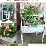 25+ Fabulous Planter Ideas via Our Southern Home