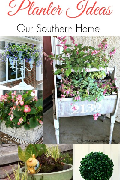Over 25 Fabulous Planter Ideas