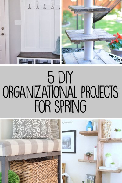 5 DIY Organizing Projects