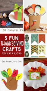 5 Thanksgiving Crafts