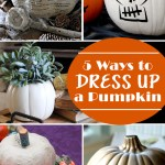5 Pumpkin Ideas to dress up your fall decor with features from Inspiration Monday!