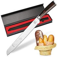 Bread Knife,10-Inch Imarku Pro serrated knife, High Carbon Stainless Steel Cake Knife