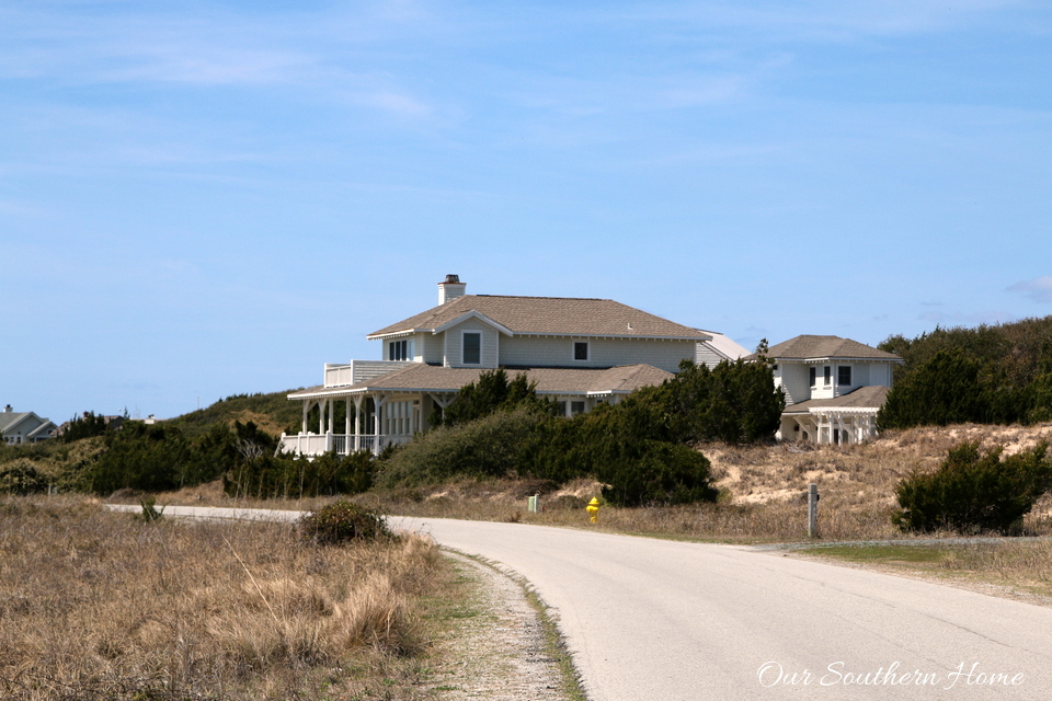 Fabulous visual tour of the homes of Bald Head Island, NC by Our Southern Home