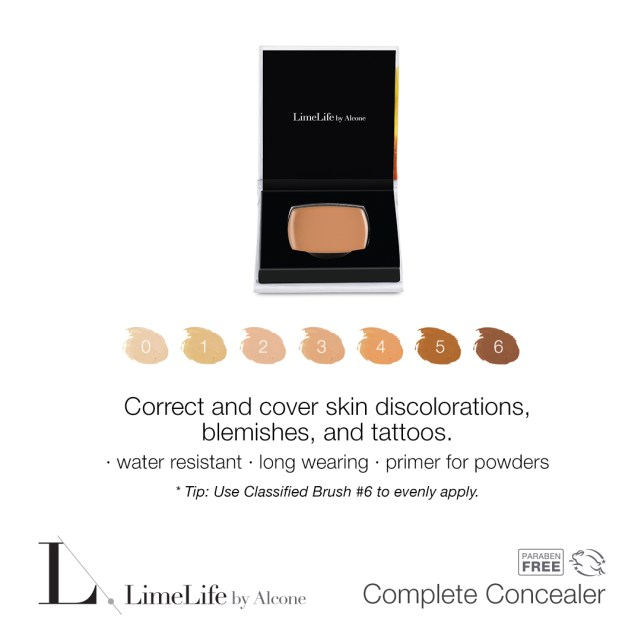 Waterproof concealers are perfect for summer! This one can be used as a foundation as well. #makeup #over40makeup #concealer #waterproofconcealer
