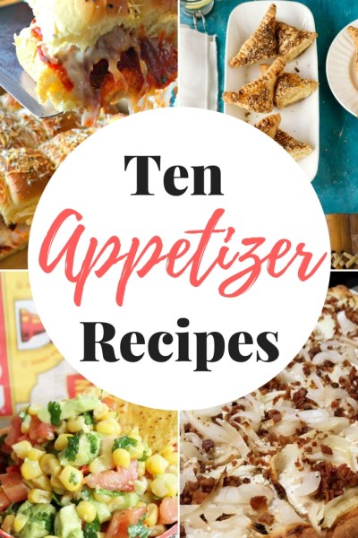 Ten Amazing Appetizers