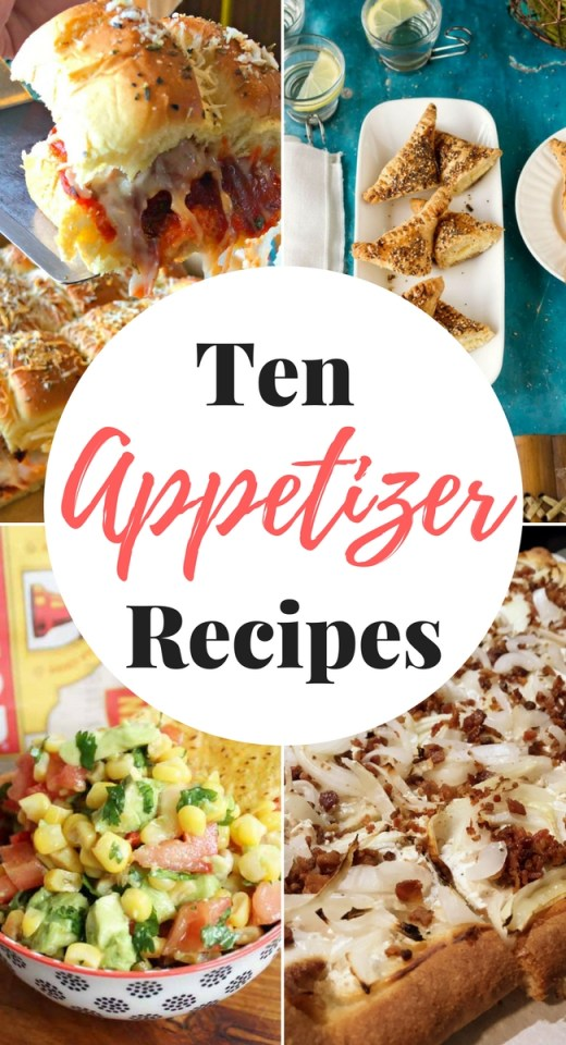 Amazing appetizer recipes from the features at Inspiration Monday link party! #appetizers